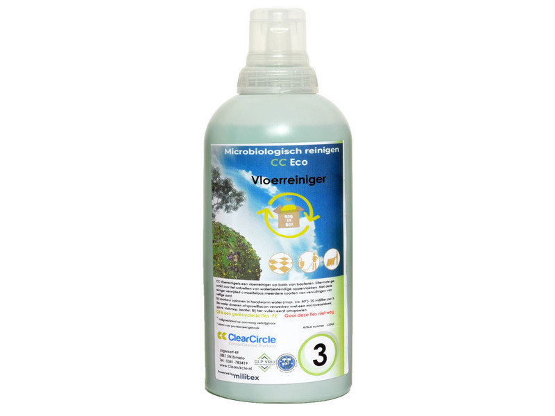NR 3 Microbiologisch Vloer ECO Doseerfles 1 ltr