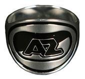 Ring AZ-logo Zwart