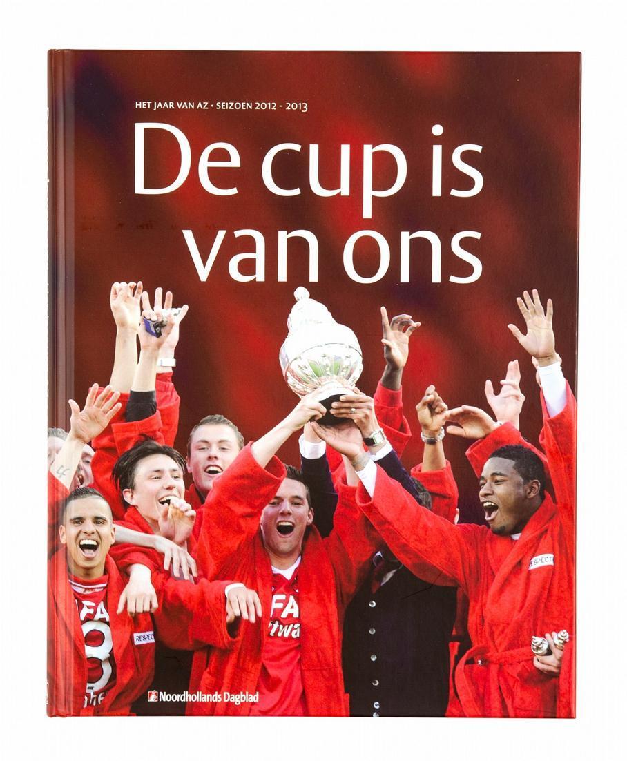 Boek De cup is van ons