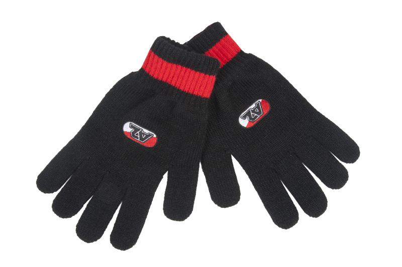Handschoen Zwart/Rood  15/16