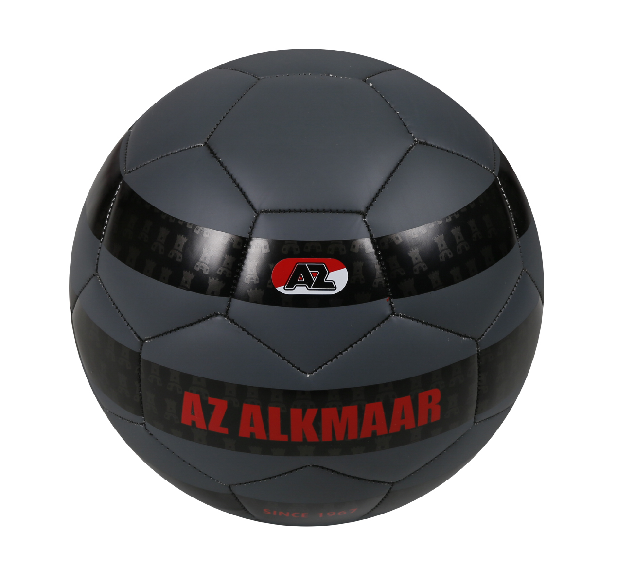 Bal AZ Alkmaar Zwart Maat 5