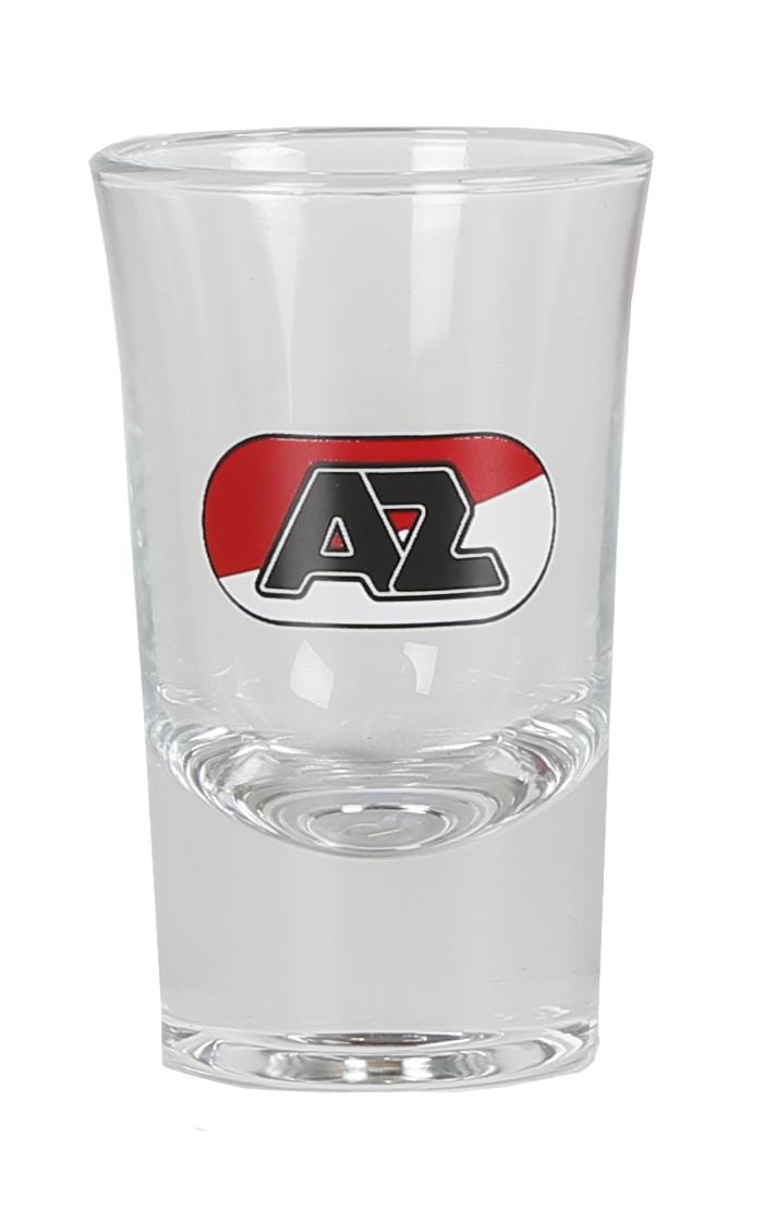 Shotglas met AZ-logo