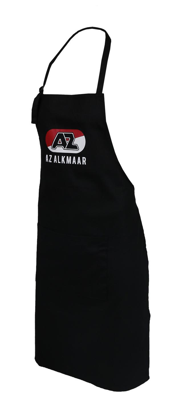 Zwart BBQ schort AZ Alkmaar