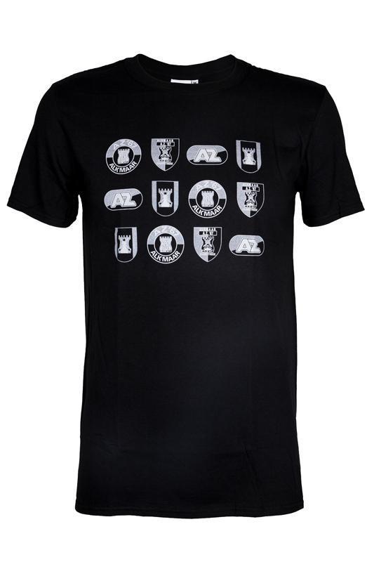 T-Shirt logo's Zwart
