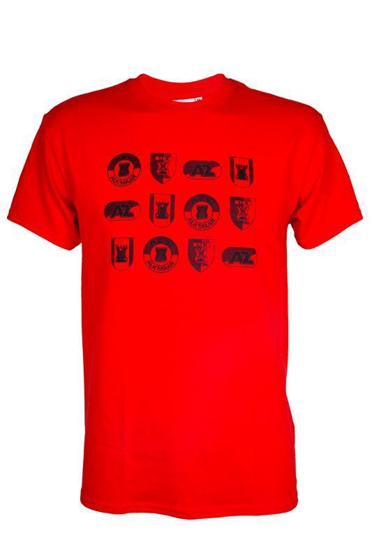 T-shirt logo's Rood