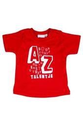Babyshirt Talentje Rood