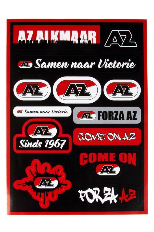 Stickervel AZ-Logo