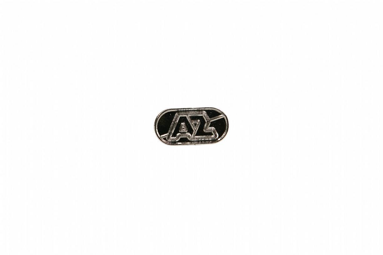 Pin AZ-logo Zilver