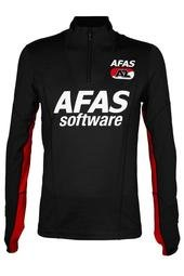 1/4 zip Antraciet 18/19