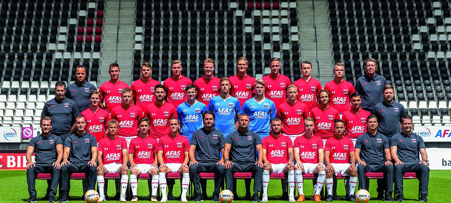 Jong AZ zaterdag naar Jong PSV
