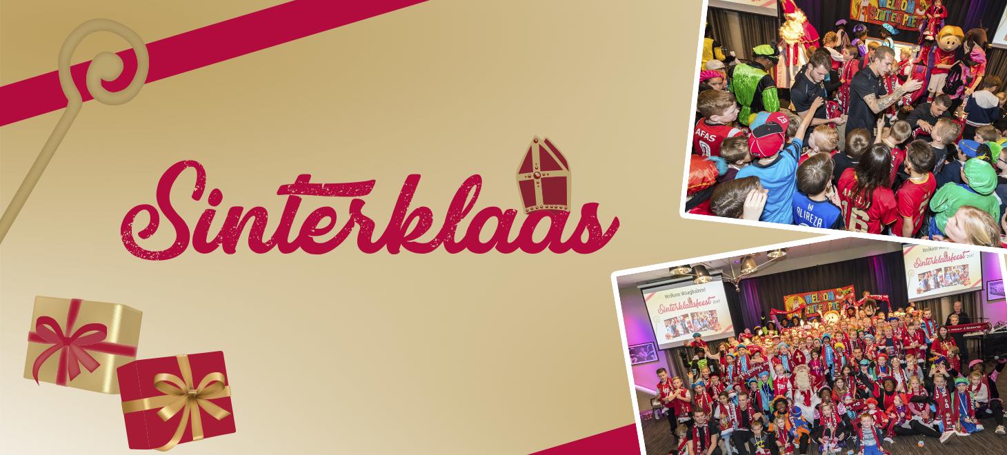 Waaghalzen Sinterklaasfeest in beeld