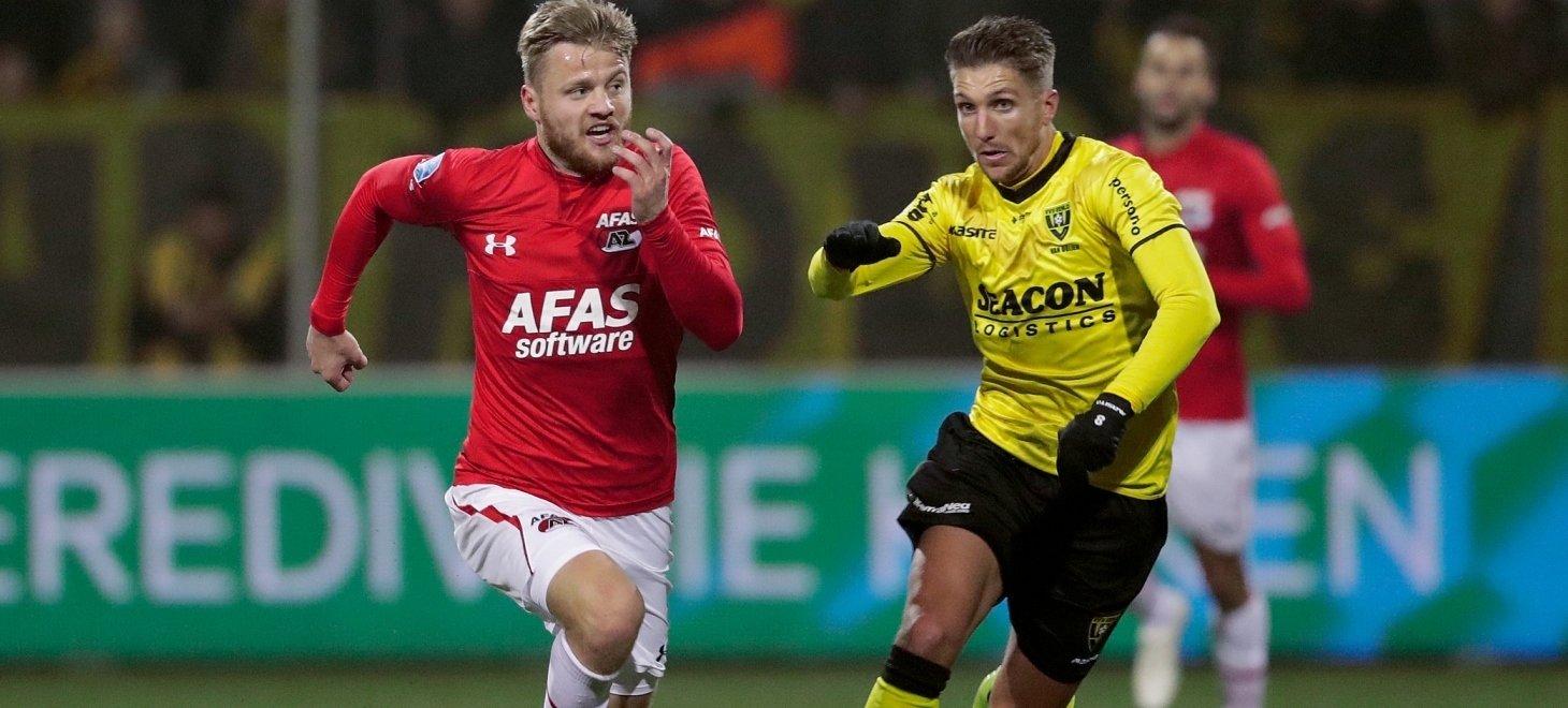 Last minute goal earns VVV point against AZ