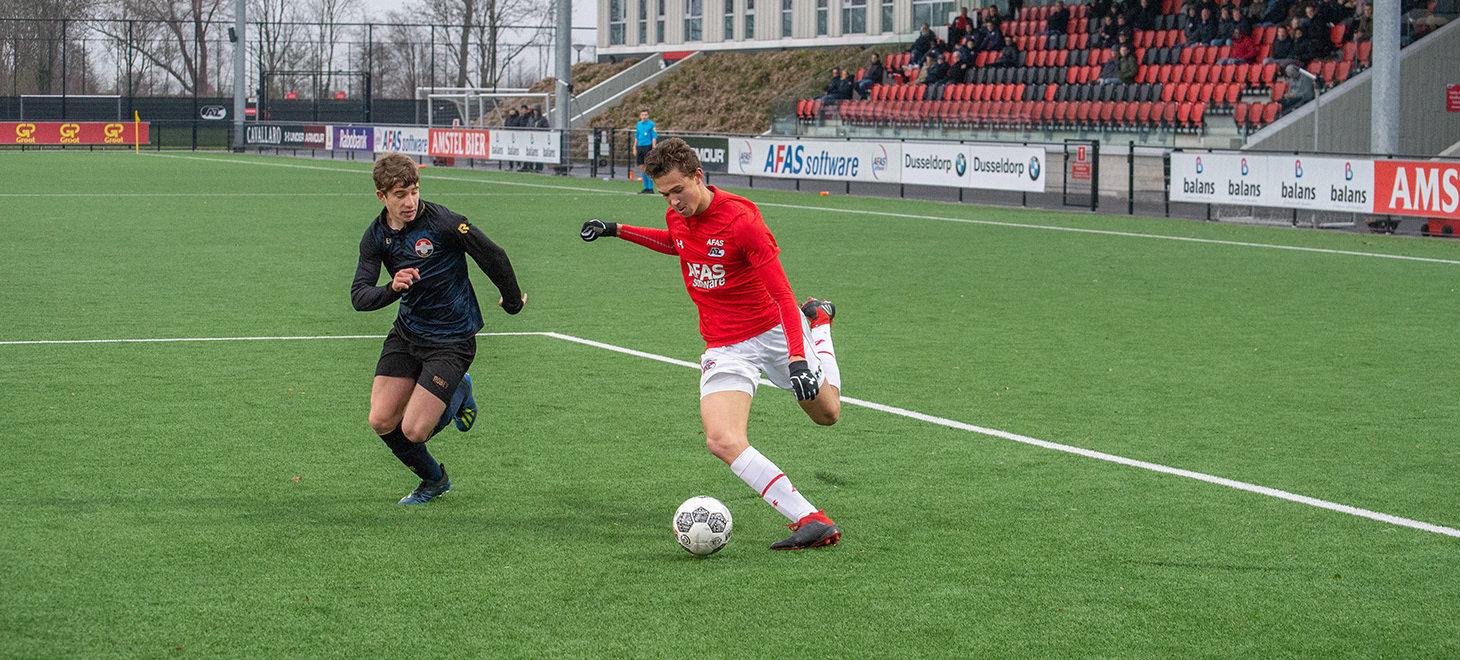 AZ Onder 19 verslaat Willem II