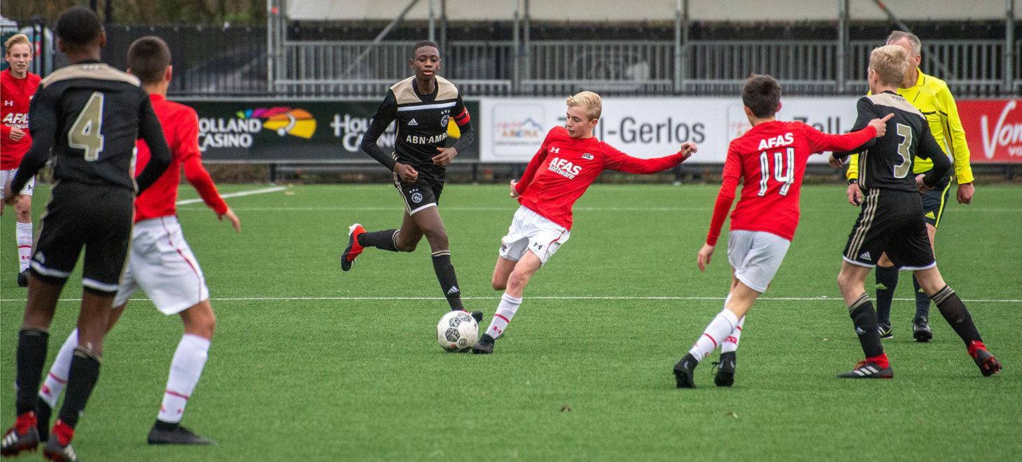 AZ Onder 14 verslaat Ajax