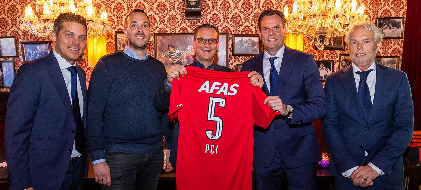 AZ en PCI tekenen nieuwe overeenkomst