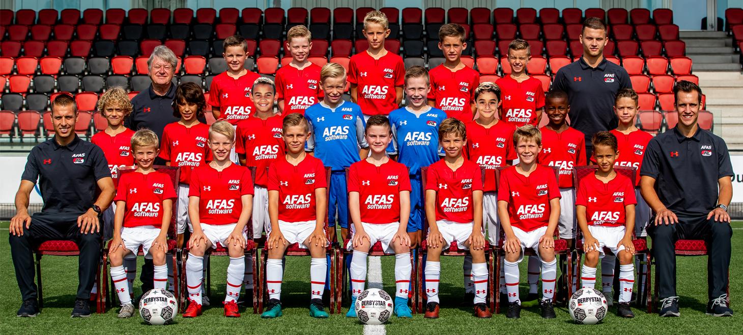 Gelijkspel AZ Onder 11 en FC Utrecht