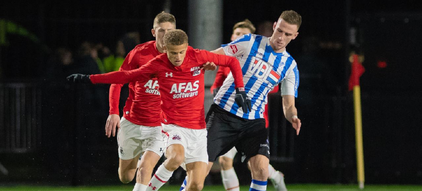 Jong AZ onderuit tegen FC Eindhoven