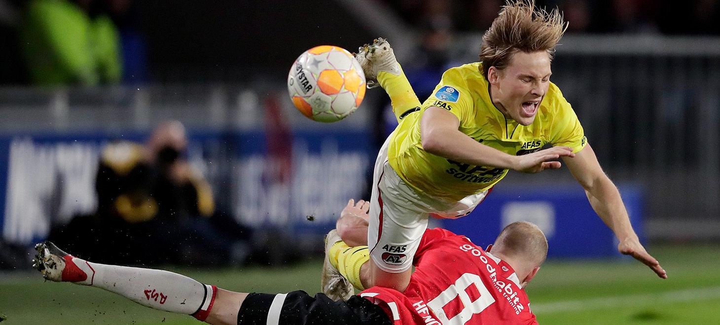 Strijdend AZ verliest in Eindhoven