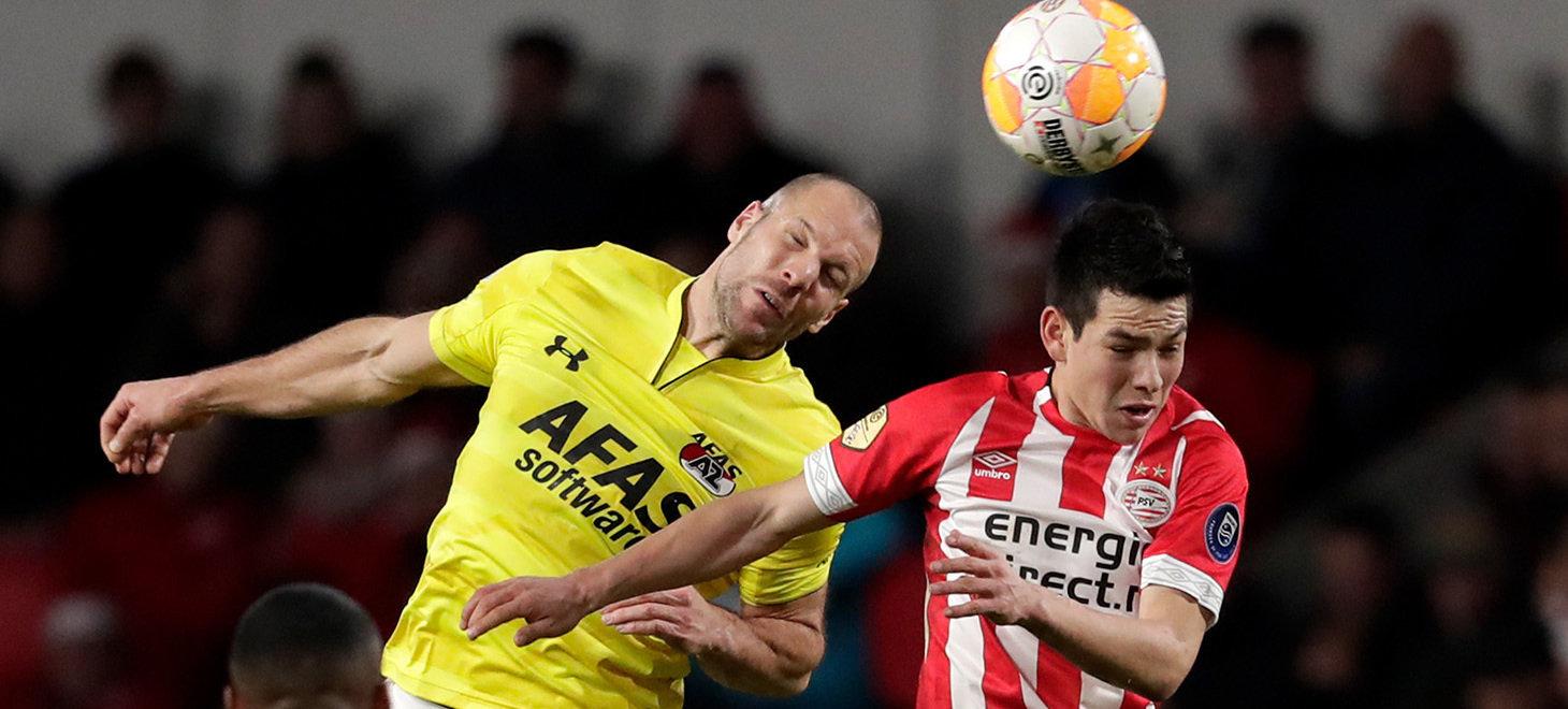 PSV - AZ in beeld