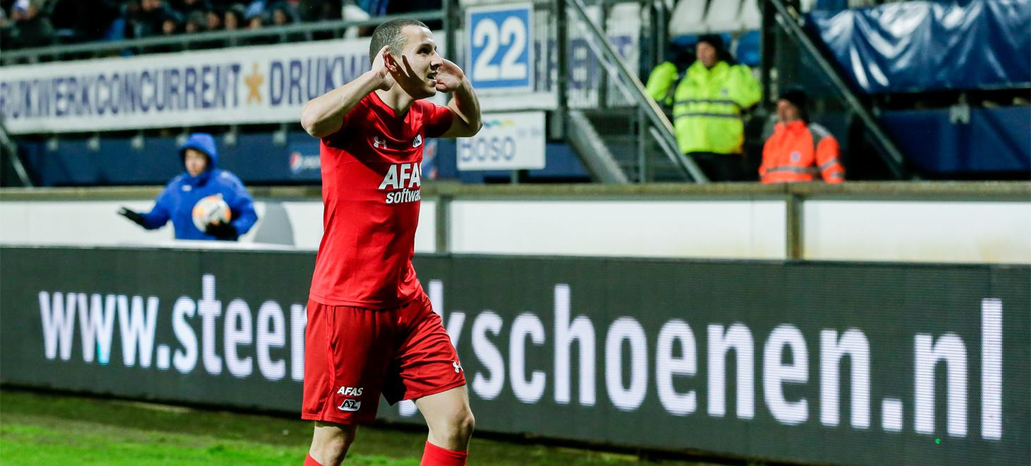 AZ dominates in Heerenveen