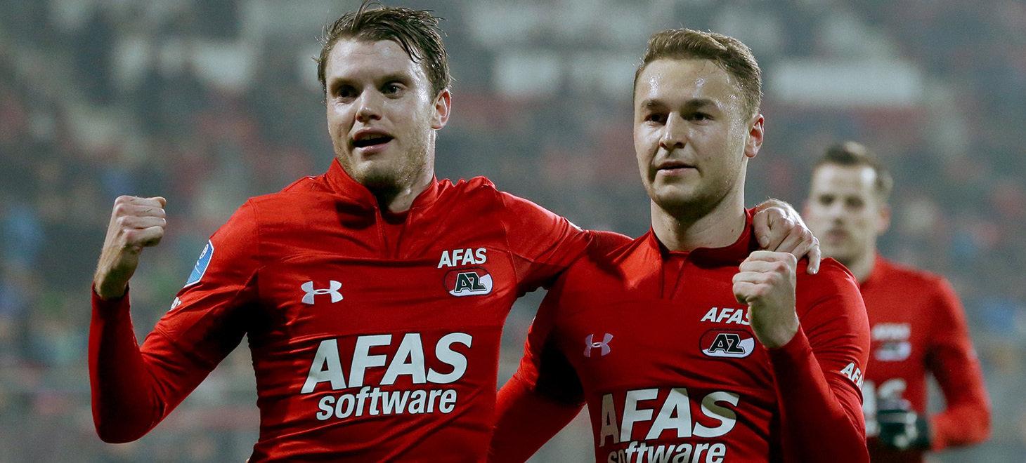 AZ wins easily over FC Emmen