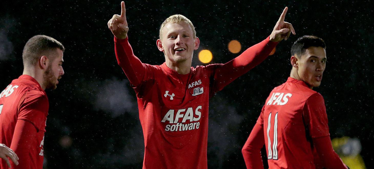 Jong AZ verslaat Cambuur