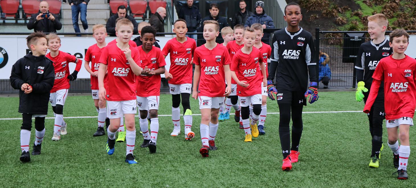 'AZ Onder 10' debuteert: 'Geweldig moment'