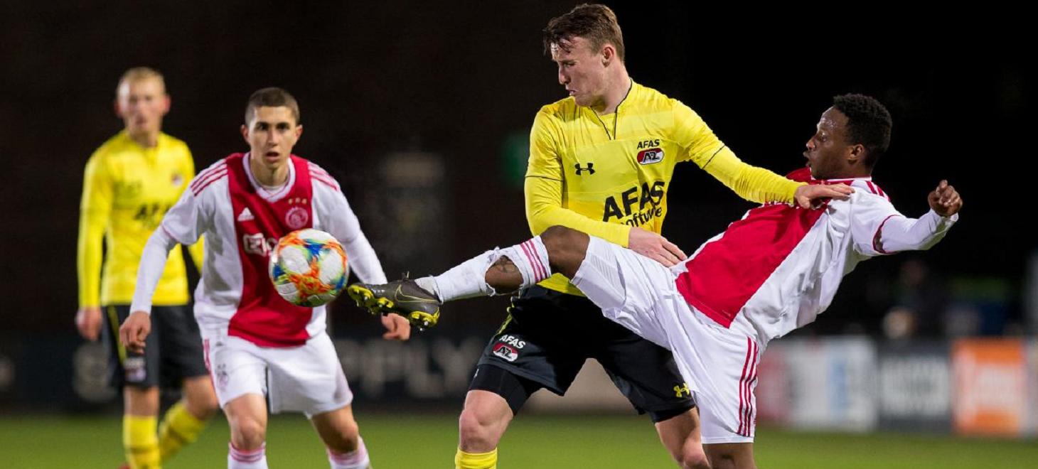 Gelijkspel Jong AZ bij debuut De Boer