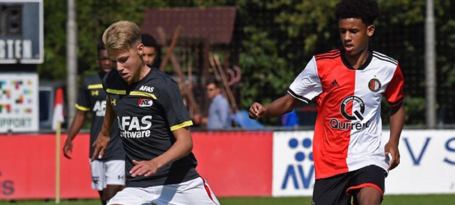 Acht AZ'ers in futureteams KNVB
