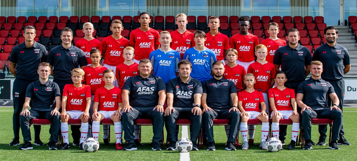 AZ Onder 14 verliest van Feyenoord