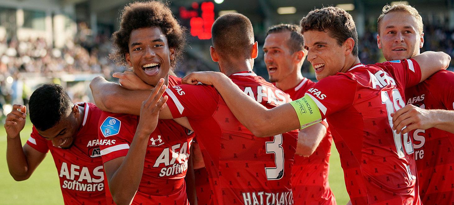 AZ reach next round of Europa League
