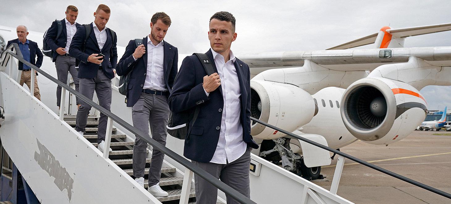 AZ aangekomen in Belgrado