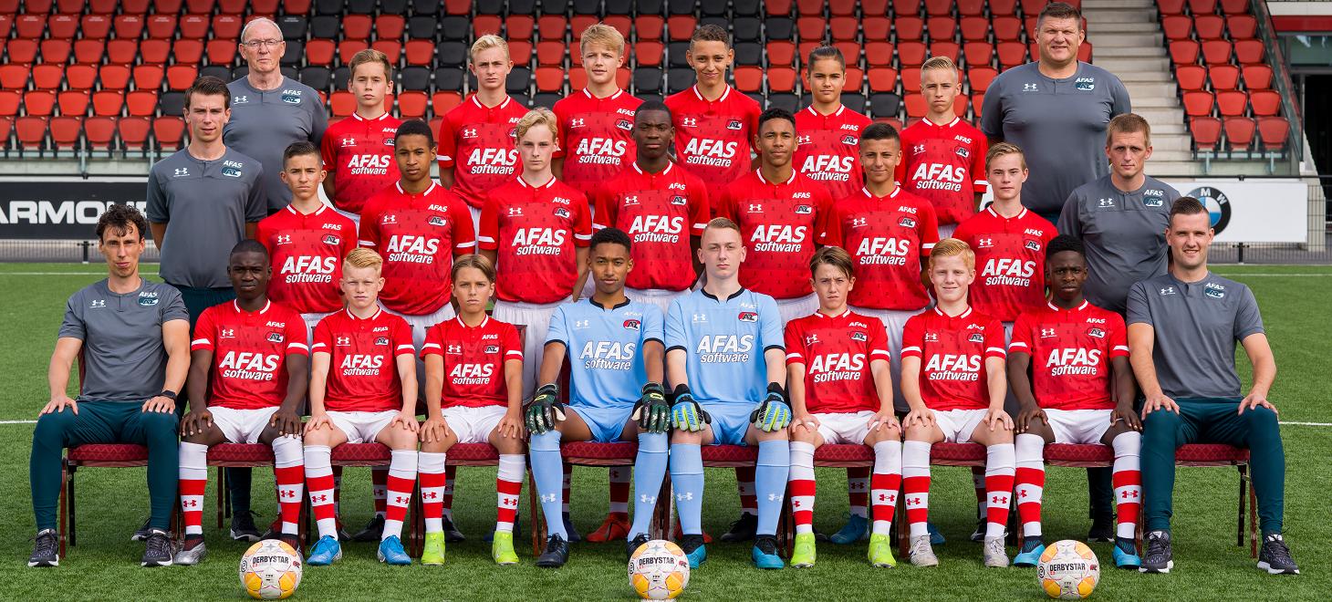 AZ Onder 15 en PSV scoren niet