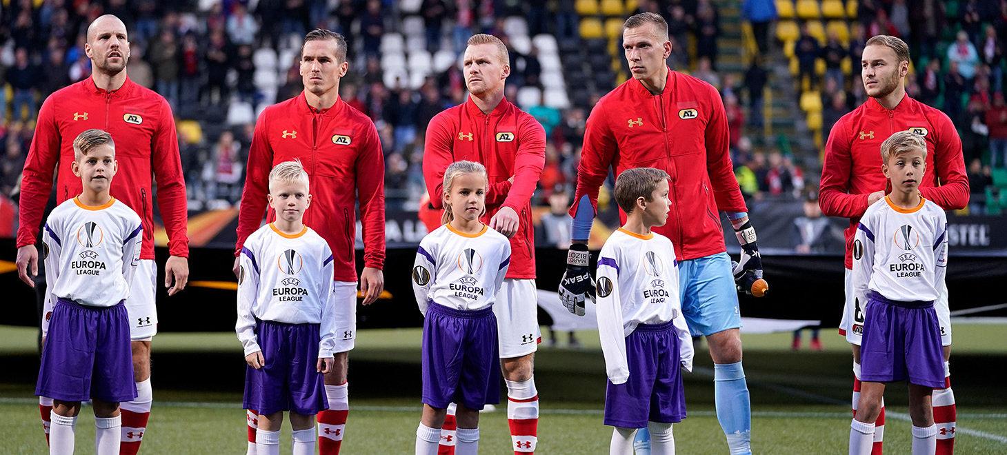 Waaghalzen AZ - Manchester United