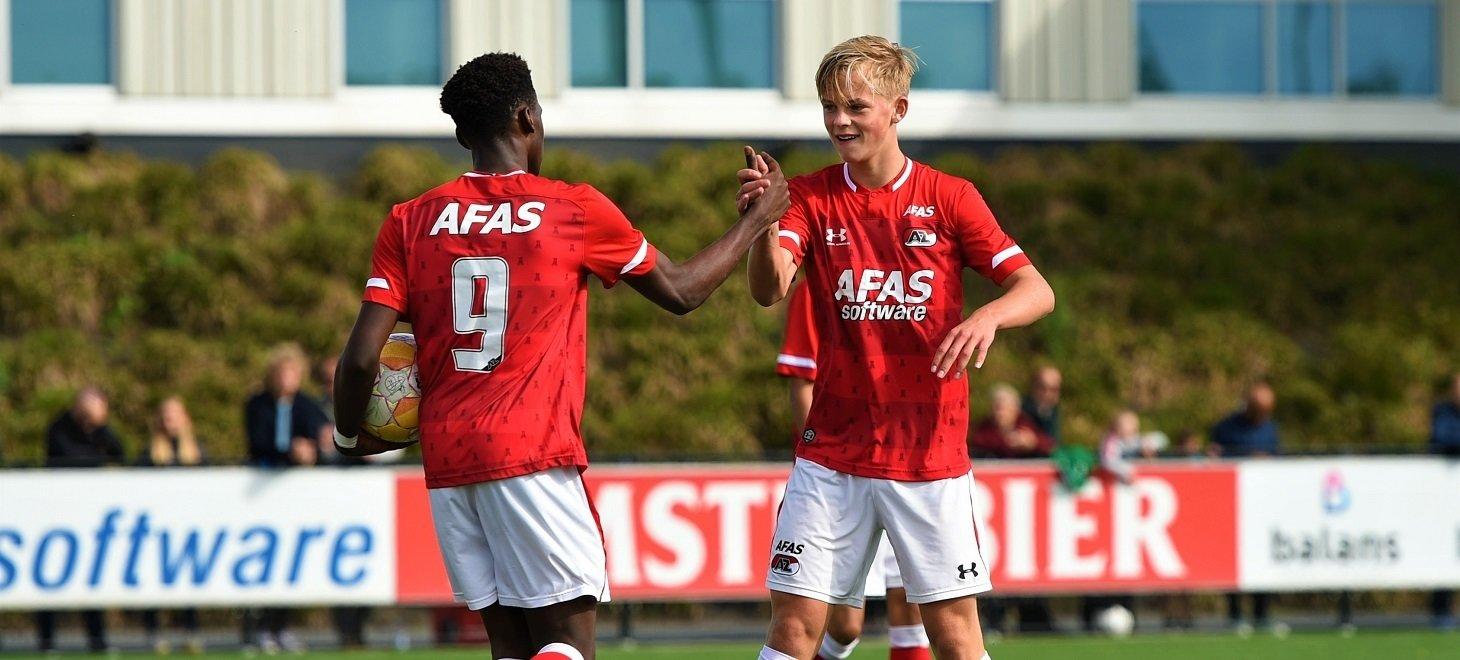 AZ Onder 16 klopt Feyenoord