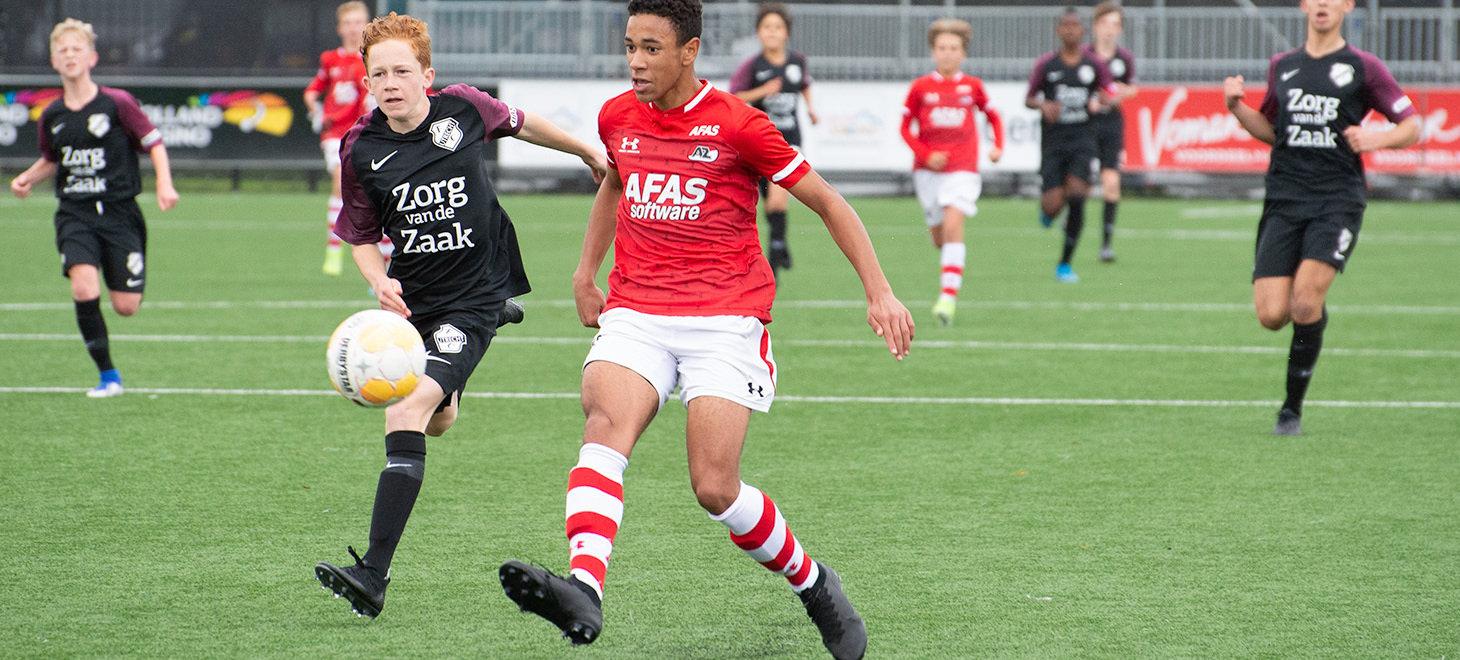 AZ Onder 15 langs FC Utrecht