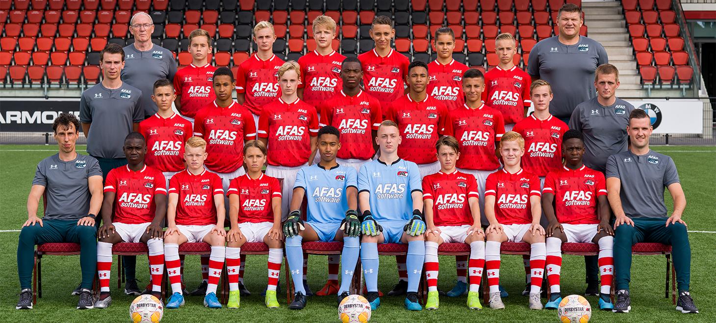 AZ Onder 15 verslaat Feyenoord