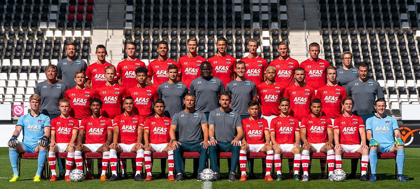 Jong AZ vrijdag naar Eindhoven