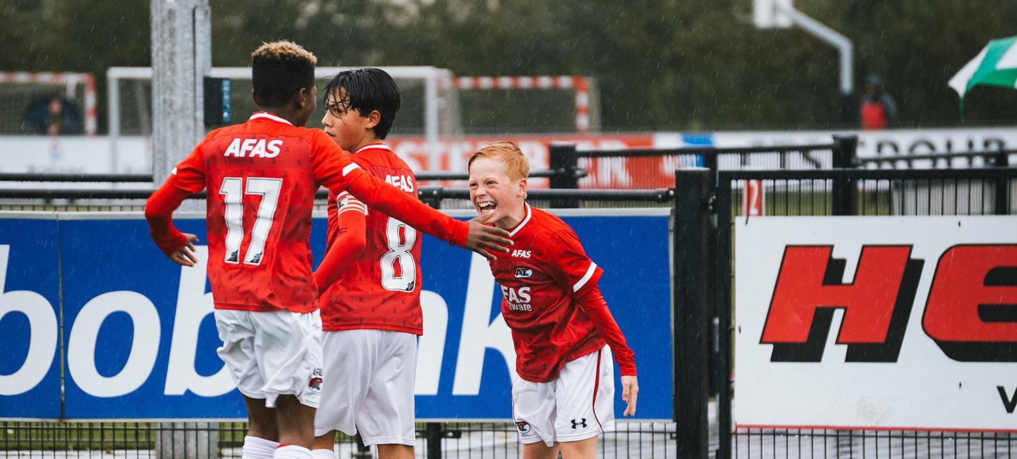 AZ Onder 14 klopt PSV