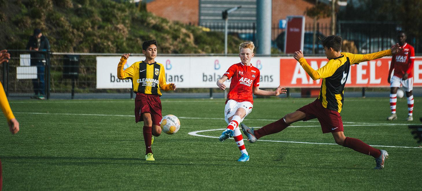 Comeback AZ Onder 15 tegen Vitesse