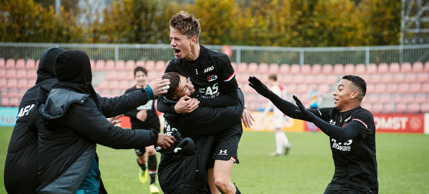 Comeback AZ Onder 17 tegen Ajax