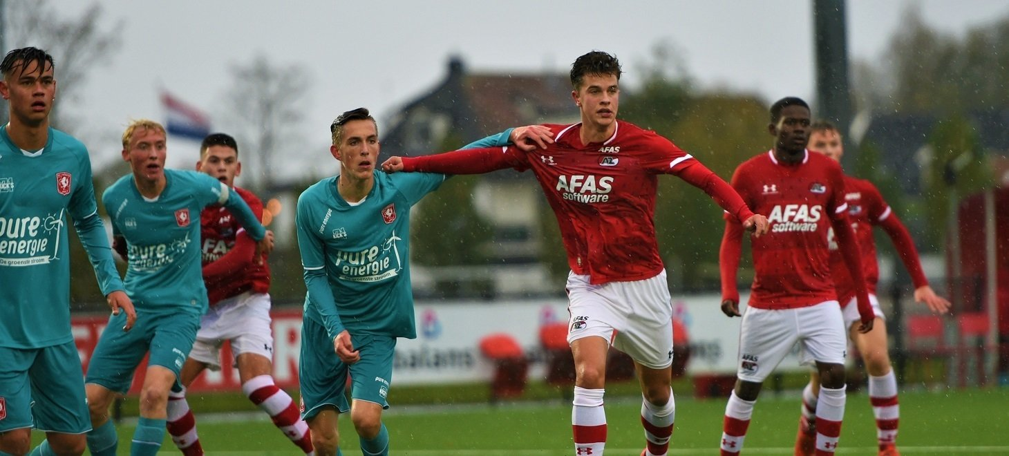 Oefenzege AZ Onder 19 op Twente