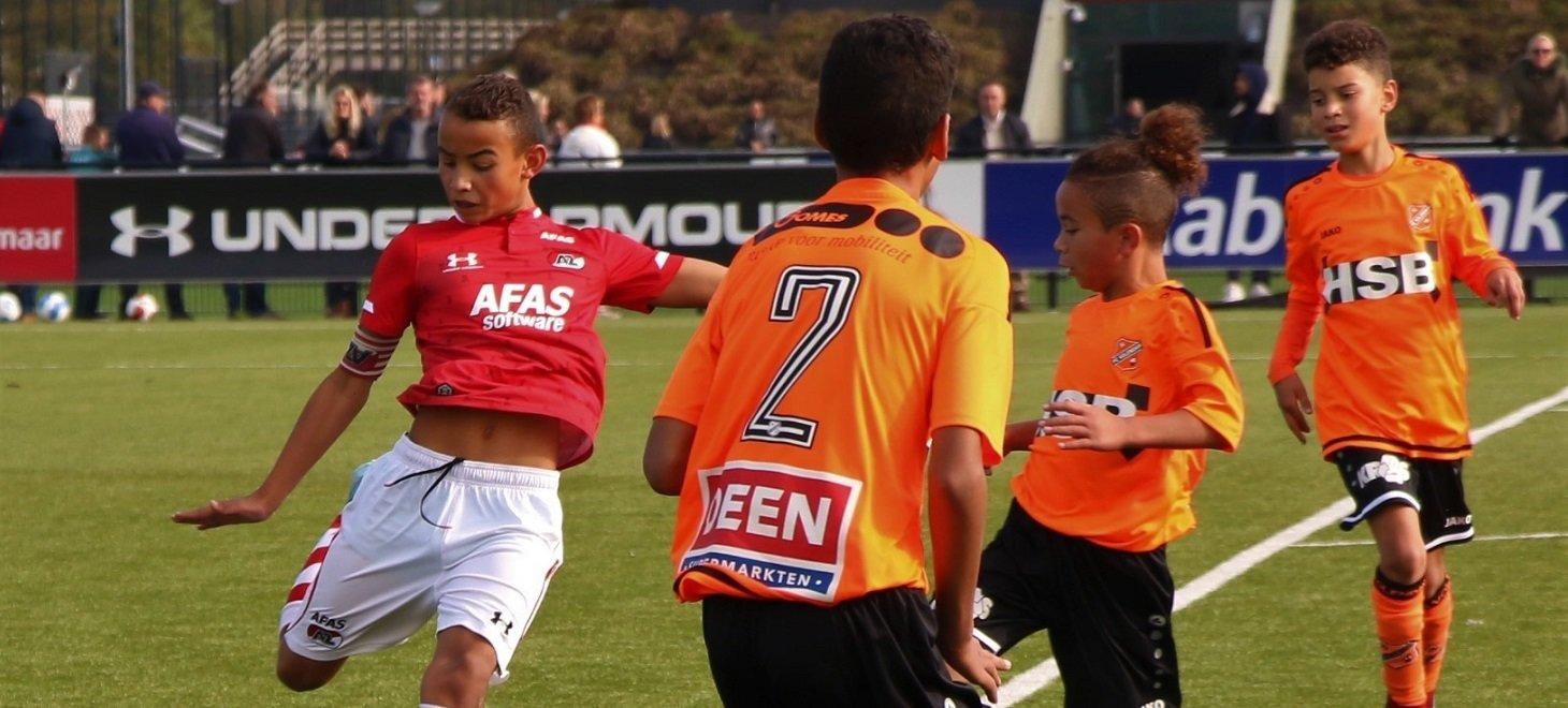 AZ Onder 12 klopt FC Volendam