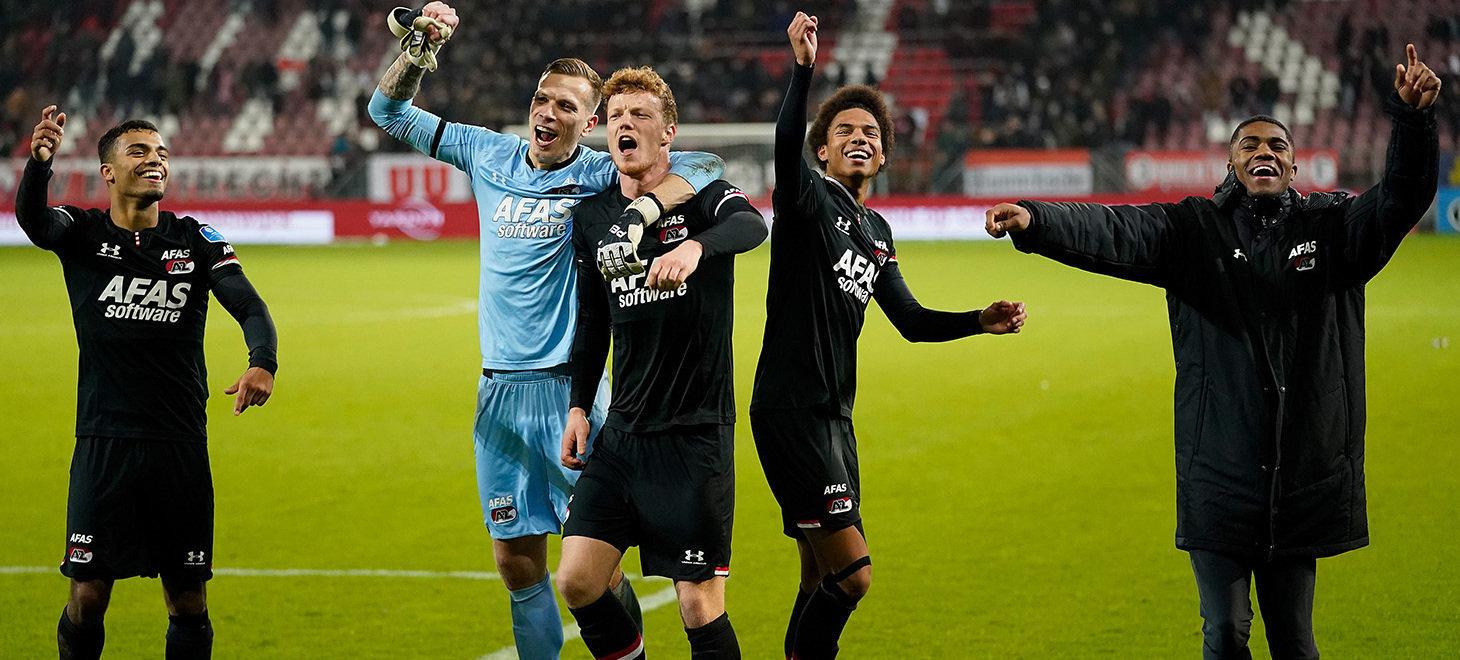AZ win away against FC Utrecht