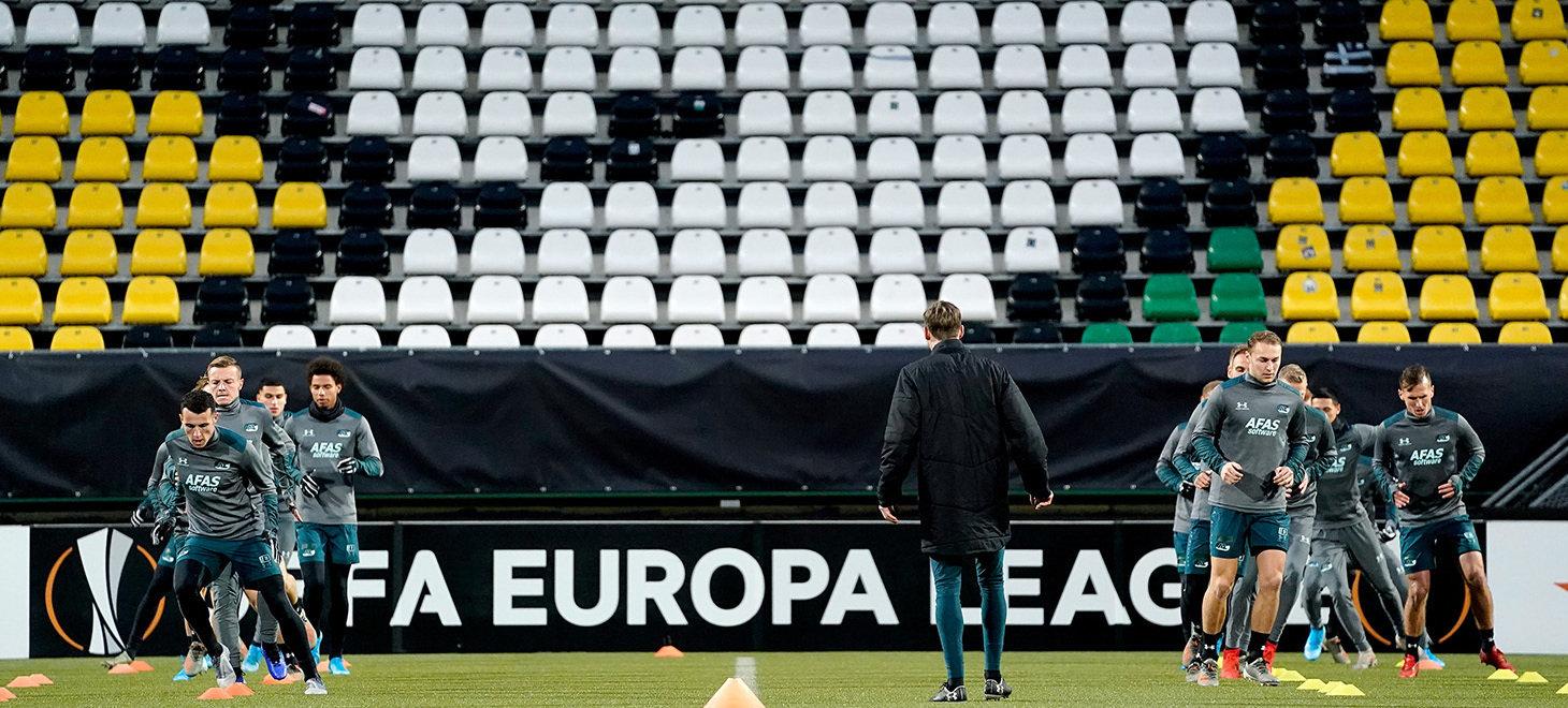 Europese training in beeld