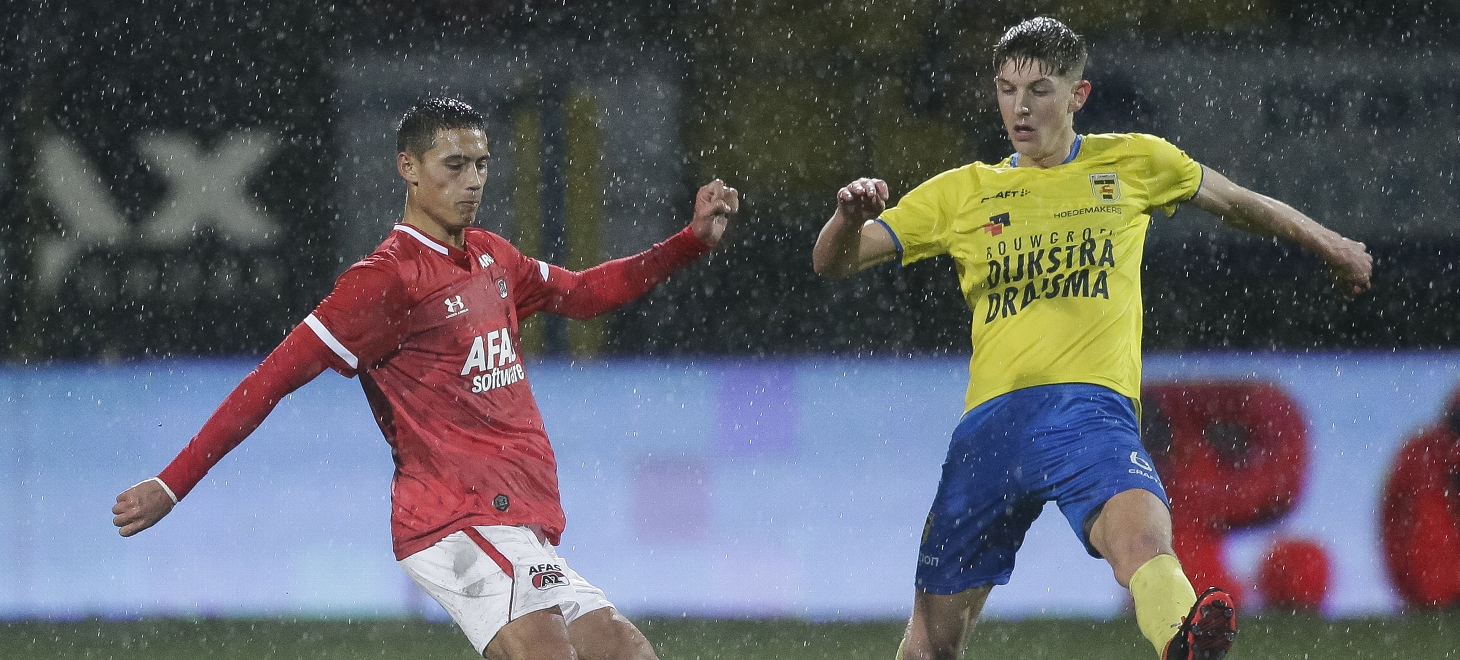 Jong AZ verliest in Leeuwarden