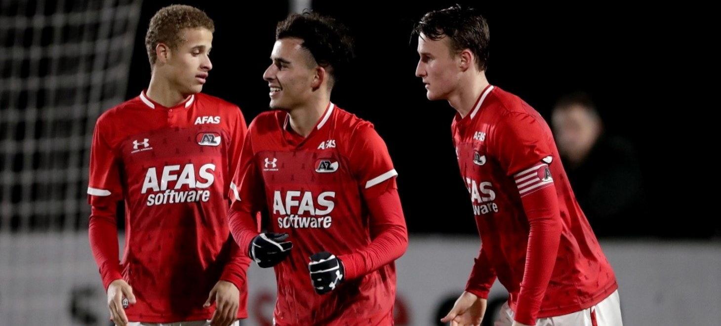Jong AZ thuis tegen Helmond