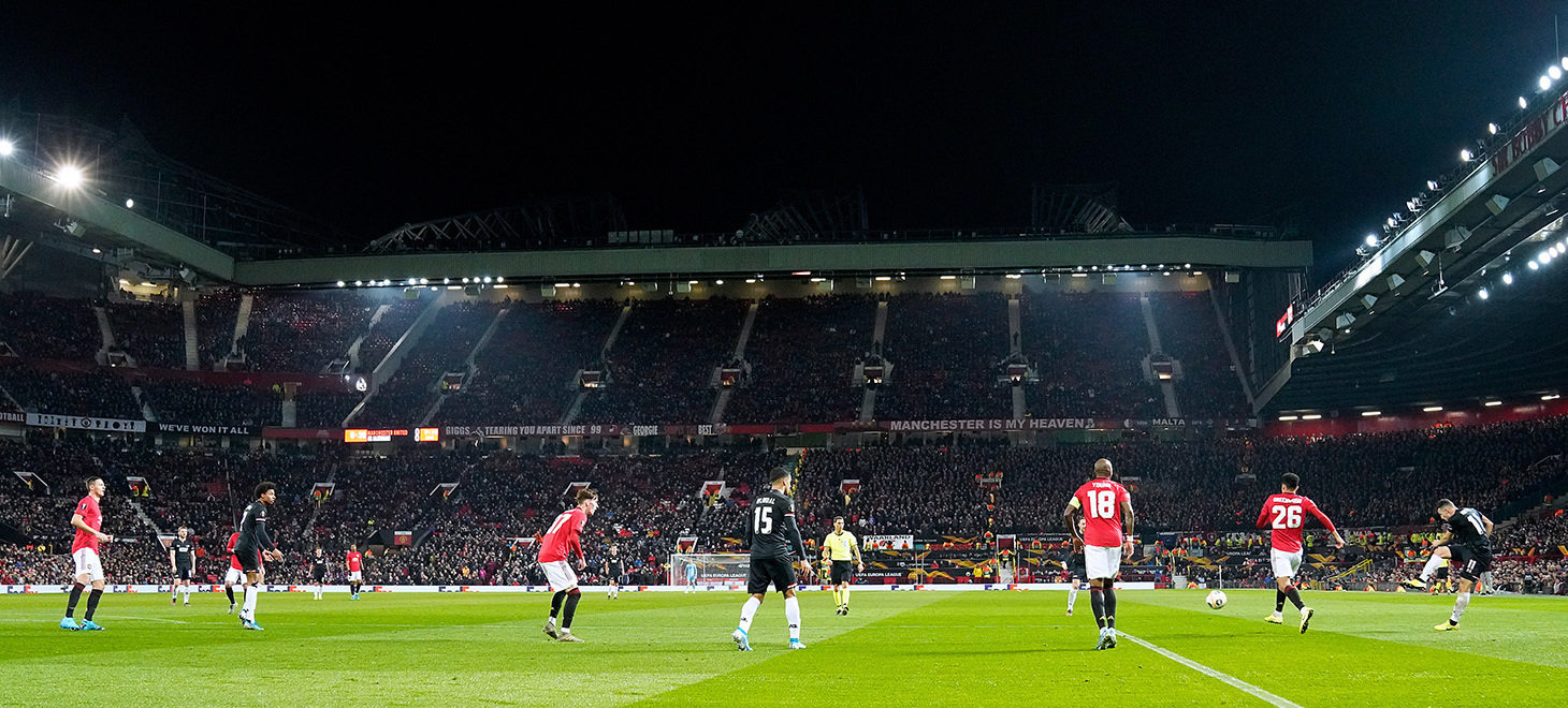 Manchester United - AZ in beeld