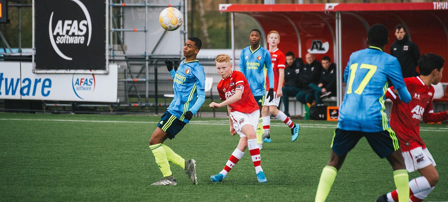 AZ Onder 15 en Feyenoord in balans