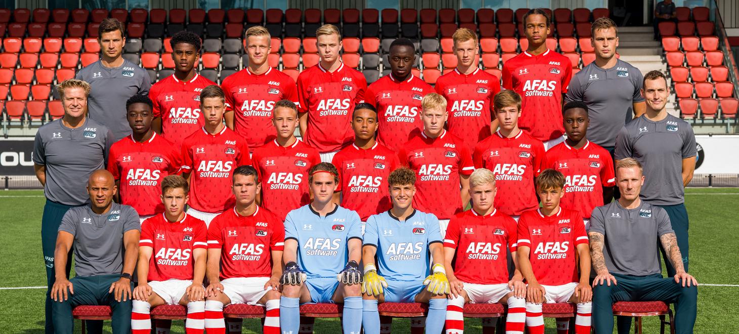 AZ Onder 17 wint in Friesland